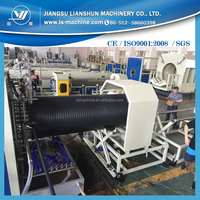 HDPE hollow wall twine tubes making machine /equipment
