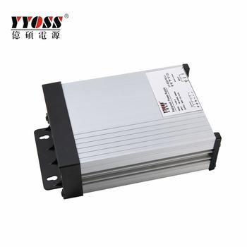 Rainproof power supply 400W 12V with 2 years warranty