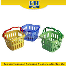 Kitchen basket injection mold, household washing basket injection molding