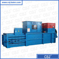 CE, ISO certificate Semi-Auto horizontal paper balers