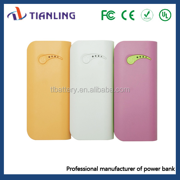 2015 New desigh hot selling mobile phone power bank