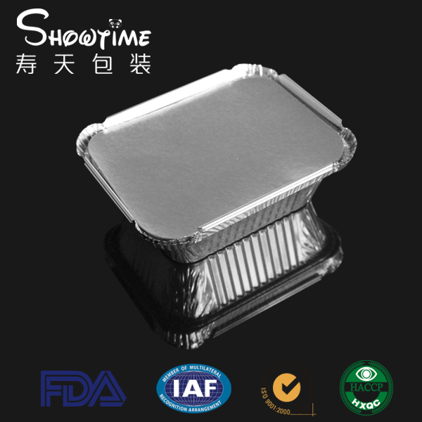 NO.1 Aluminum foil container/ 250ml (Showtime Packing)