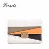 Hot selling soft leather fashion women wallet, ladies clutch purse