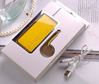 Less than USD3 promotional gift perfume power bank 5600 mah