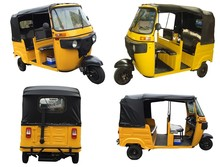 High PerformanceThree Sides Open Electric Tricycle With Passenger Seat,Tuk Tukrickshaw Price,India Auto Rickshaw