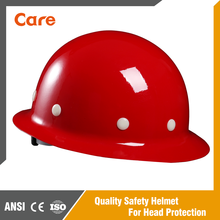 Fiberglass Industrial/Construction/Mining Hard Hat Full Brim Safety Helmet