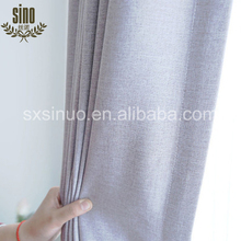 Window Decorative Linen blackout luxury curtains for houses curtains for sale