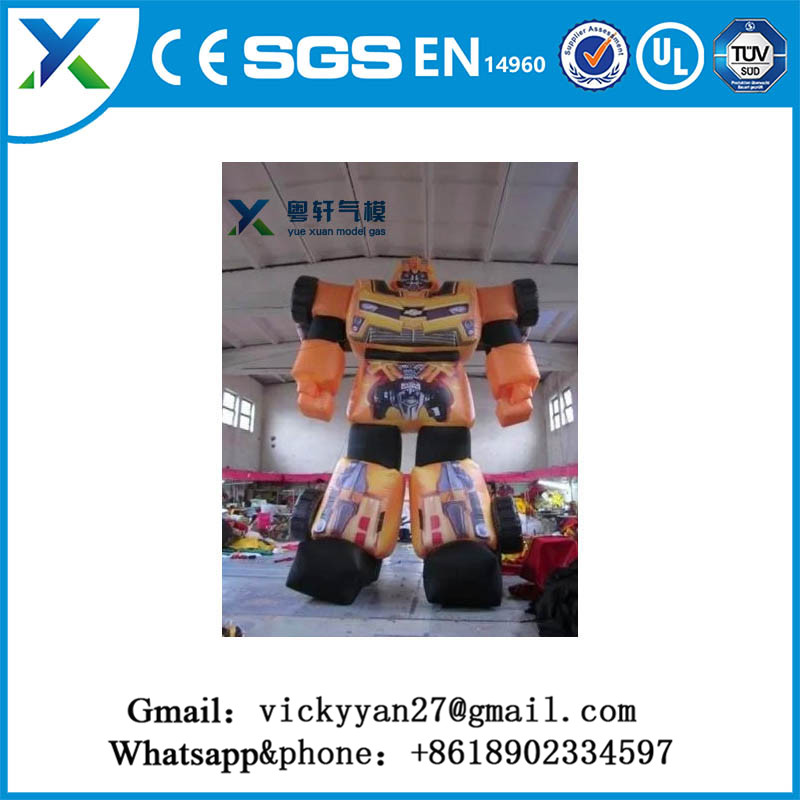 Giant outdoor inflatable robots customized inflatable advertising promotion