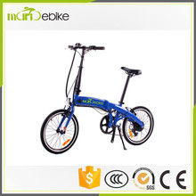 high performance ex-Work 250W ebike portable / foldable / folding ebike