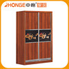 National Standard Durable Bedroom Cabinet Wardrobe Sliding Door