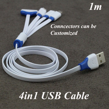 4 in 1 USB Cable Multi USB Charging Cable