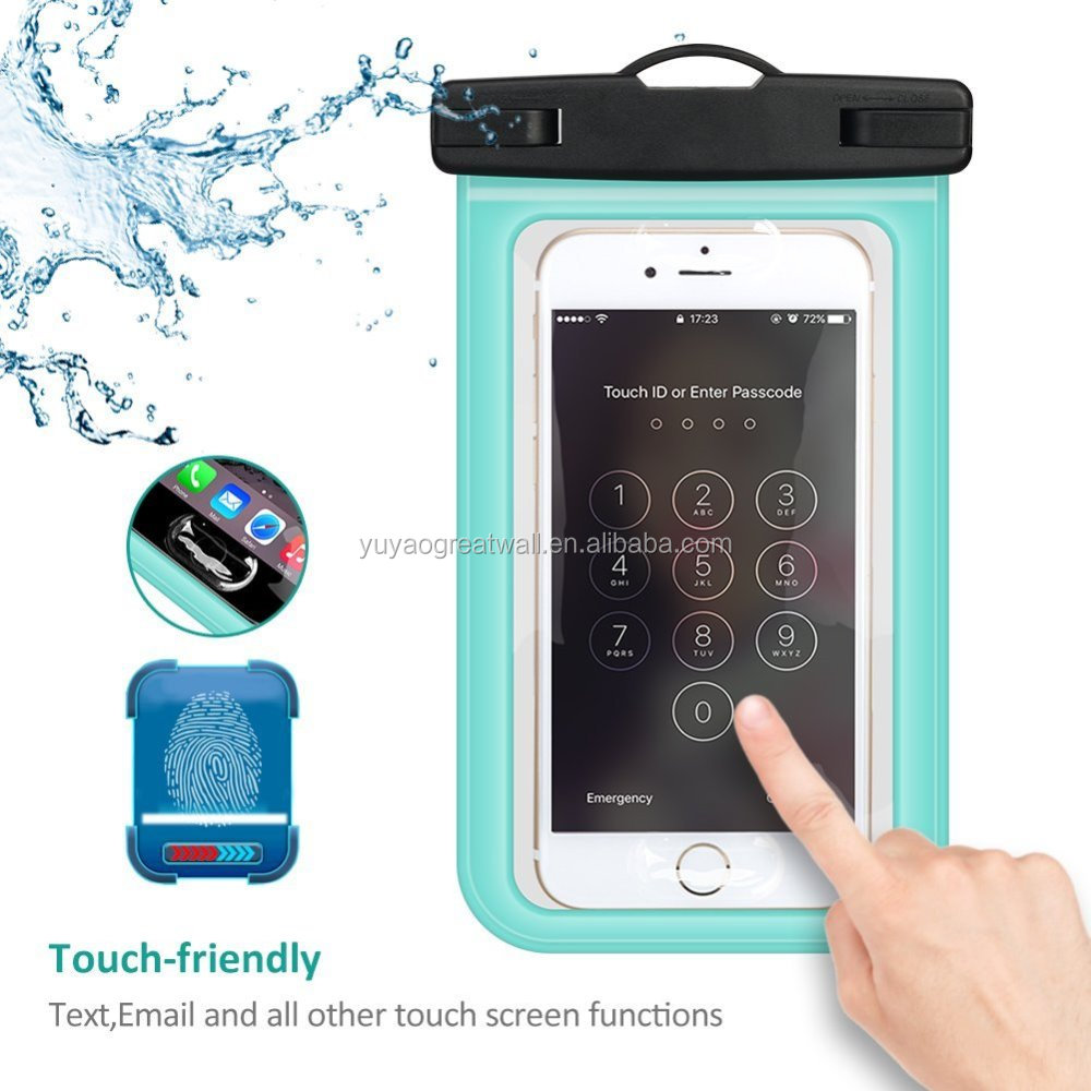 Universal Waterproof Cell Phone Case Dry Bags Pouch Waterproof Bag for Mobile Phone
