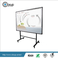 High definition 77-100 inch multifunction smart interactive electronic whiteboard provide module and SKD
