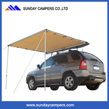 2016 aluminum frame waterproof canvas car awning tent for promotional