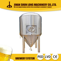 Beer Brewery Stainless Steel Jacketed Fermenter