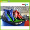 giant inflatable slide with pool outdoor play games equipment for sale