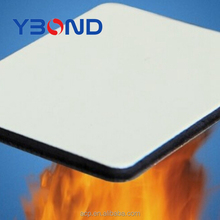4MM fireproof PVDF decorative wall material aluminium plastic composite panel