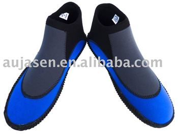 Fashion short cut boots for scuba diving