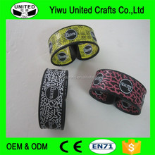 new and unique products silicone slap band cheap silicone slap bracelets