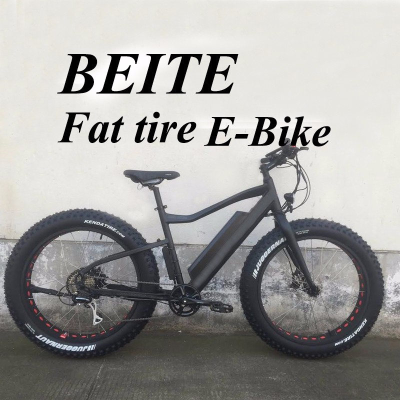Electric fat bike tire E-bicycle with big power