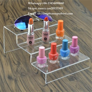 OEM ODM acrylic essential oil display rack/acrylic essential oil display shelf