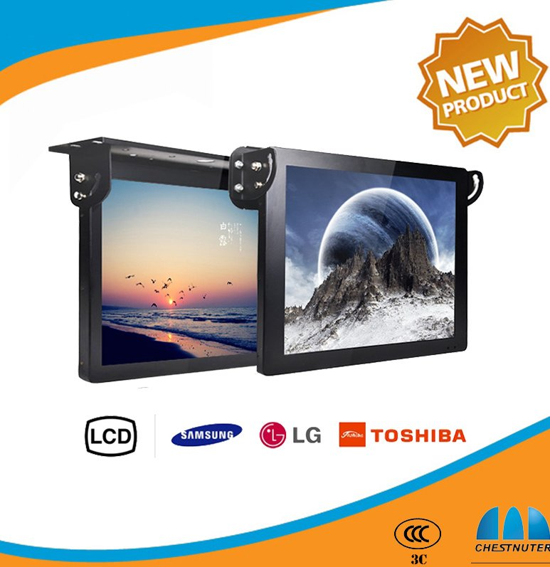 32 inch wireless touch monitor windows os HD wall mount lcd bus lcd tv