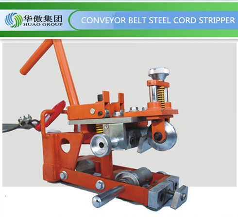 steel cord stripper, steel cable strippping machine,conveyor belt joint machine