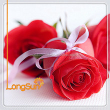 Artificial PU Flower of Rose Branch