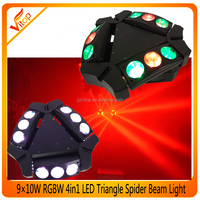ADJ kaos 9 eyes stage and price rgbw led spider beam moving head light