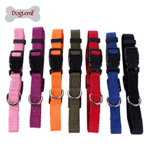 7 Colors Strong Soft Bulk Nylon Dog Collar