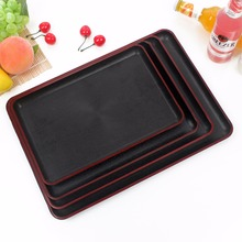 plastic serving tray for hotel and fast food restaurant, with LOGO