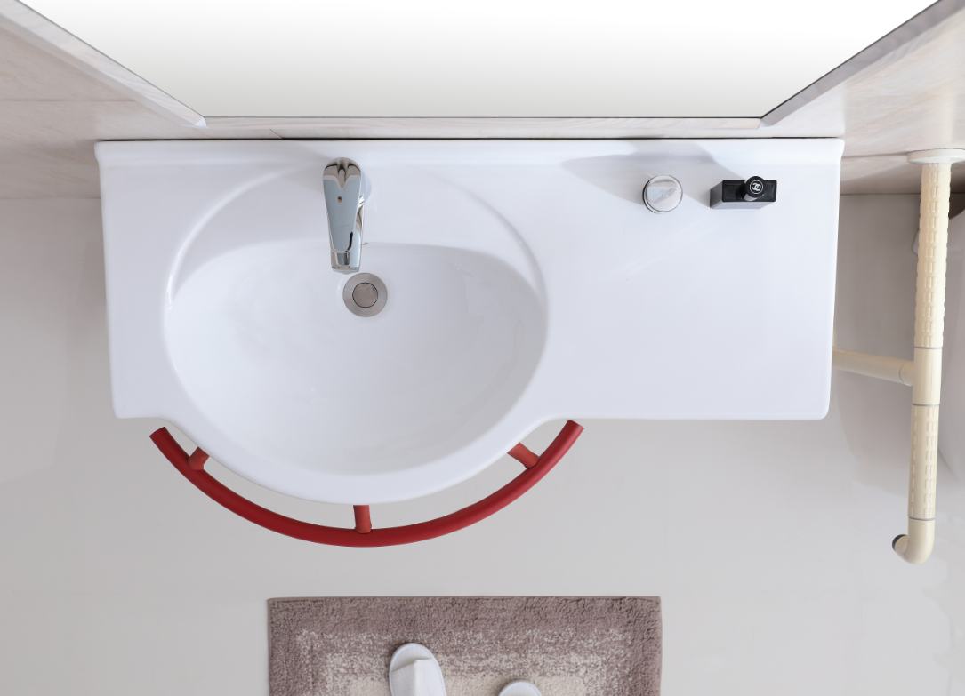 Comfortable bath chair and basin products for the elderly