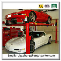 For Sale! 3600kg 4 Post Mechanical Lifting Equipment Car Lifter 4 Post Auto Lift Car Lifter Machine CE Approved Auto Lift Motor