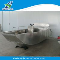 High quality Aluminum landing craft with outboard motor of China