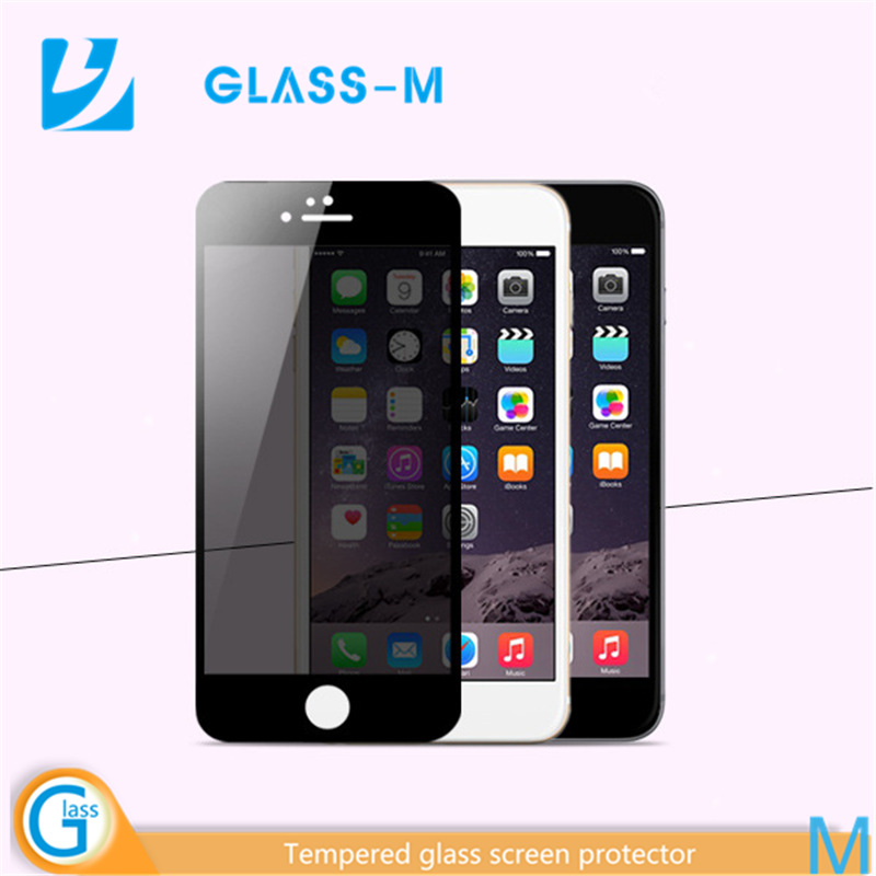 New premium 2016 Wholesale!9H Anti-shocked Anti Privacy Screen Protector for iPhone6s And 6sPlus