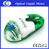 USB optical floating elements liquid mouse with aqua for Corporate gift ideas