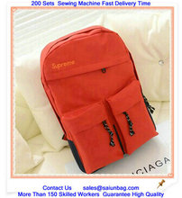 New Product Yiwu Manufacture japanese school bag with front pockets