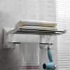 60 cm suction cup portable bathroom stainless steel towel rack
