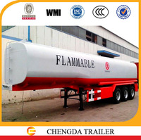 Sinotruk Howo stainless fuel tank trailer fuel for Africa