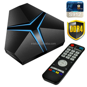 Magicsee Iron+ android 7.1 Tv Box Amlogic S912 Octa Core 3Gb Ram 32Gb Rom 4Gb Android Box 4K player