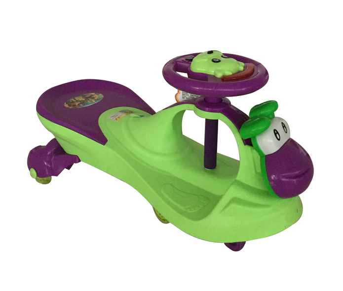 kids twist car with music Silent wheel