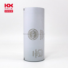 Grey Printed Plastic Film On Roll With Customized Design For Food Packing