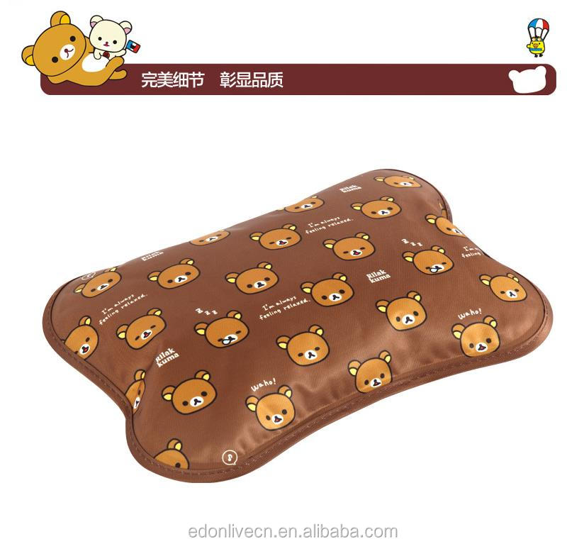 Cute bear rechargeable winter warmer bag bottle anti-explosion usb electric hot water bag