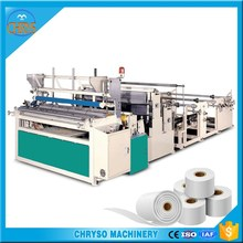 small toilet paper making machine rolling machine