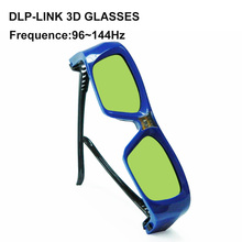 Best sell rechargeable dlp link 3d glasses compatible with all dlp link projectors