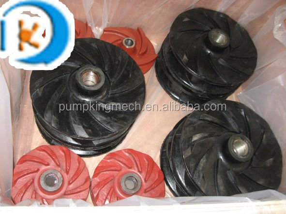Pump impeller for centrifugal pumps Rubber impeller price pump parts Shijiazhuang Hebei