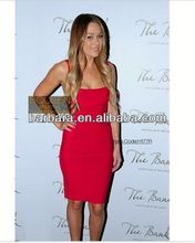Spaghetti strap 2012 fashionable bandage dress dropshipping