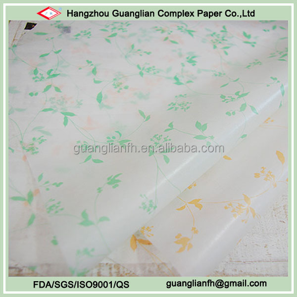 Custom Printed Wax Paper for Food