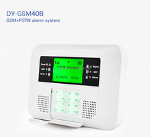 Multi-language Quad Band PSTN + Wireless GSM security wolf guard gsm alarm m2bx