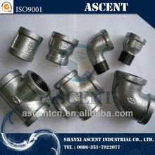 malleable cast iron pipe fitting & Galvanized NPT Threaded Malleable Cast Iron Pipe Fittings / gi couplings / gi nipples